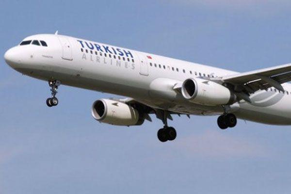 THY uçağı Hindistan jetlerini alarma geçirdi
