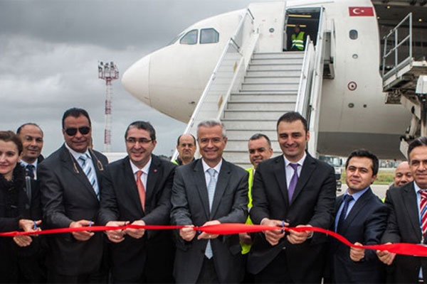THY'den Tunus'a kargo seferleri başladı