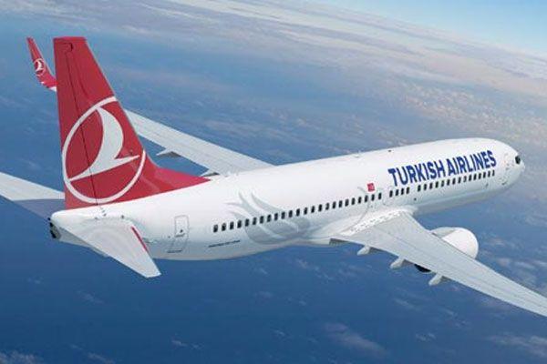 Türk Hava Yolları'ndan İsrail'e Filistin göndermesi