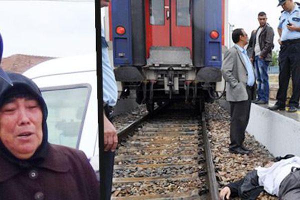 Kırıkkale'de feci tren kazası! Bir annenin en zor anı...