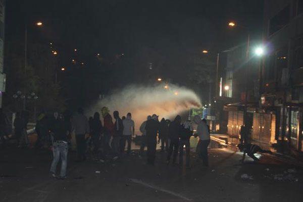 Tunceli'de karakola molotoflu saldırı düzenlendi