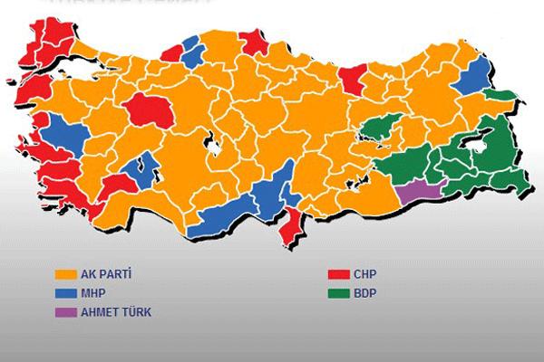 81 ilin belediye başkanları belli oldu