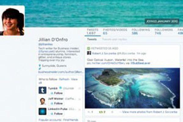 Twitter'ın yeni tasarımı ortaya çıktı
