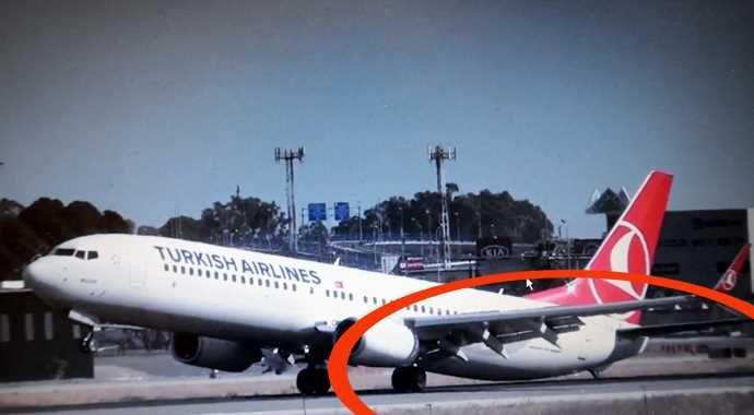 THY uçağı büyük tehlike atlattı