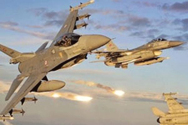 Türk savaş uçakları, 'acil kodu' ile Musul'a uçtu
