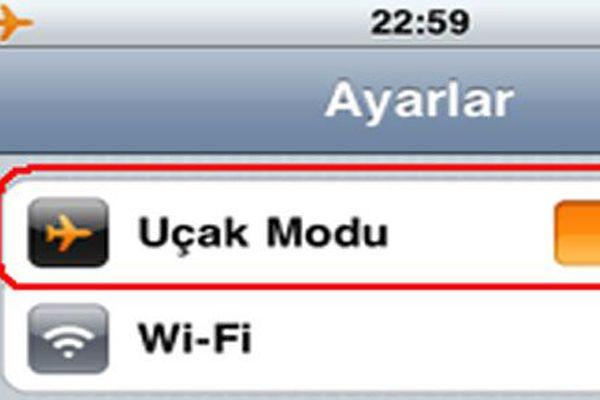 iPhone'lar uçak modunda daha hızlı şarj olur mu