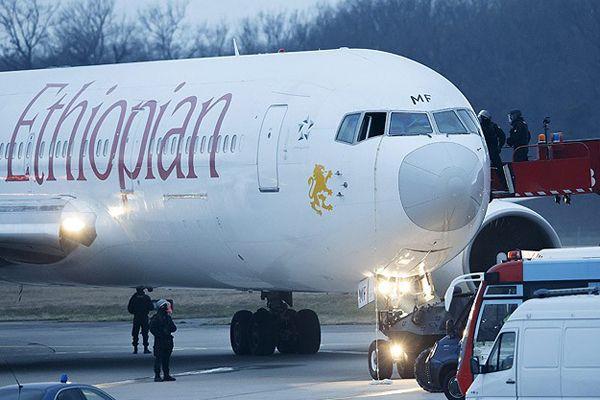 Etiyopya - Roma seferini yapan uçak kaçırıldı