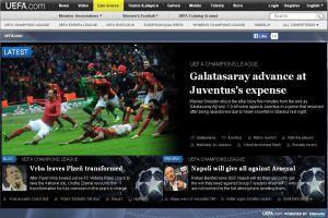 Galatasaray UEFA'nın manşetinde
