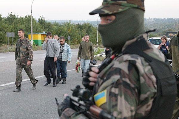 Ukrayna'da rehine değişimi yapıldı