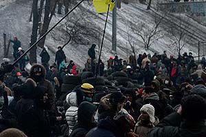 Ukrayna'da gösteriler şiddetleniyor