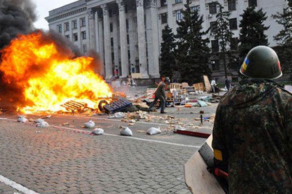 İç savaş ateşi Ukrayna'yı sardı