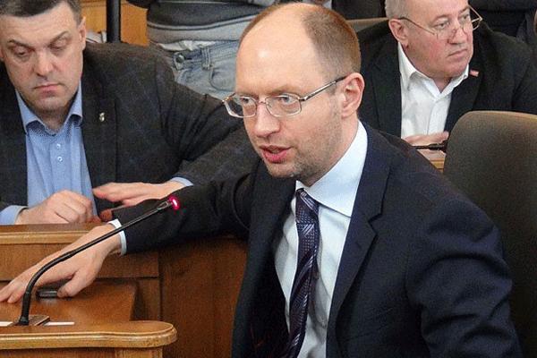 Yatsenyuk, 'Siyasi ve diplomatik bir çözümden yanayım'