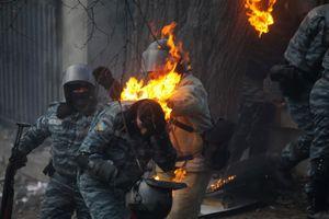 Ukrayna'da gösterilerde 119 kişi yaralandı