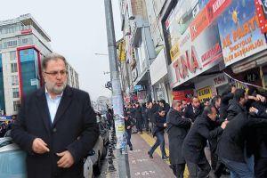 Osman Nuri Gülaçar'a ses bombalı saldırı