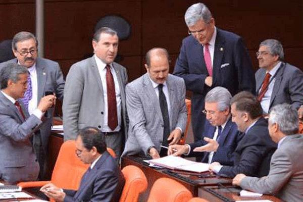 AK Partili vekillerden 'hayırlı olsun' imzası