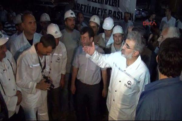 Bakan Yıldız 9 ay önce o madeni ziyaret etmişti- İZLE