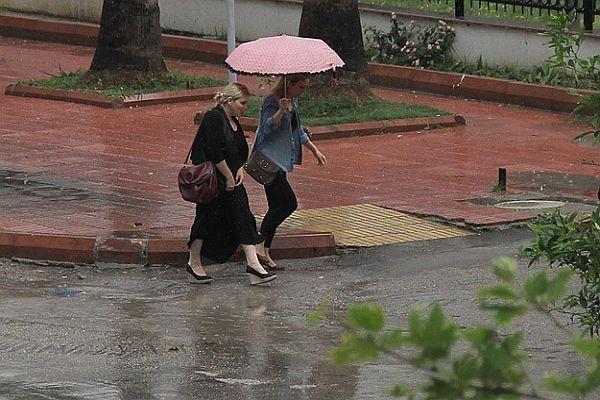 Dikkat! Yağışlı hava geliyor