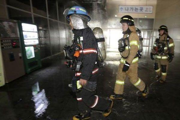 Güney Kore'de yangın dehşeti, 7 ölü