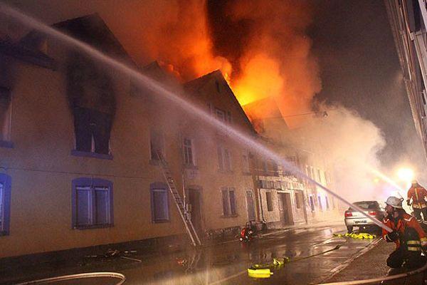 Almanya'daki yangında 3 çocuk öldü