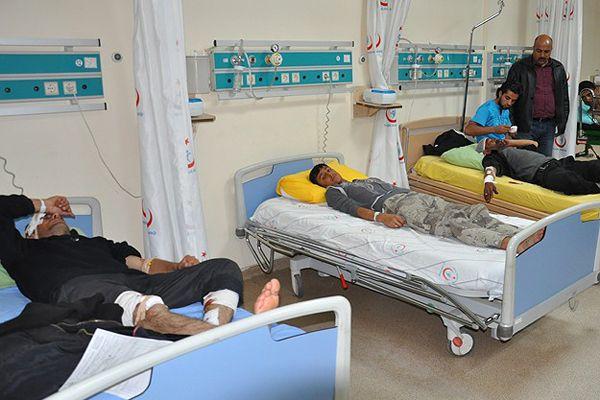 Kilis'e getirilen yaralılardan 27'si taburcu edildi.