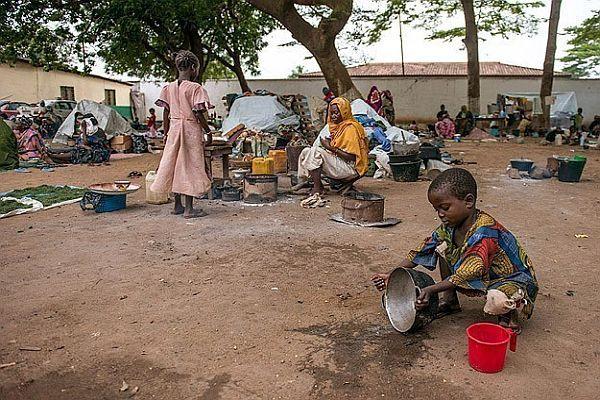 Orta Afrika için yardım kampanyası