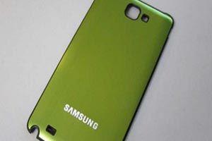 Galaxy Note Lite, yeşil renkte geliyor
