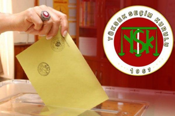 YSK, iki ilimizdeki seçim sonuçlarına itirazı kabul etti