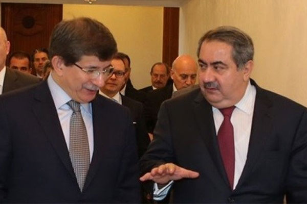 Ahmet Davutoğlu Irak Dışişleri Bakanı ile görüştü