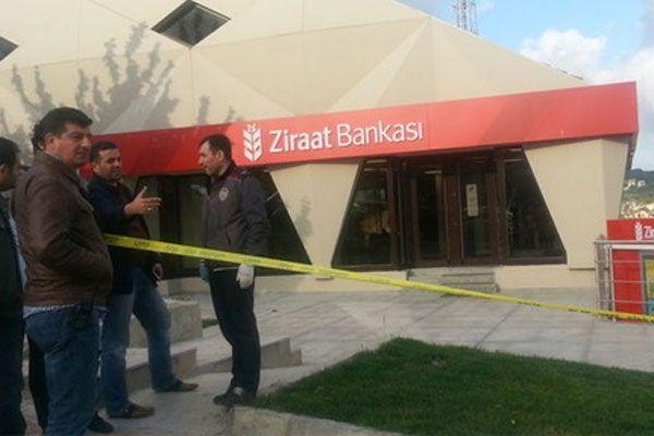 Zekeriyaköy'de banka soygununda dehşet dakikaları
