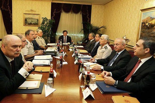 Başbakanlık'ta güvenlik zirvesi sona erdi