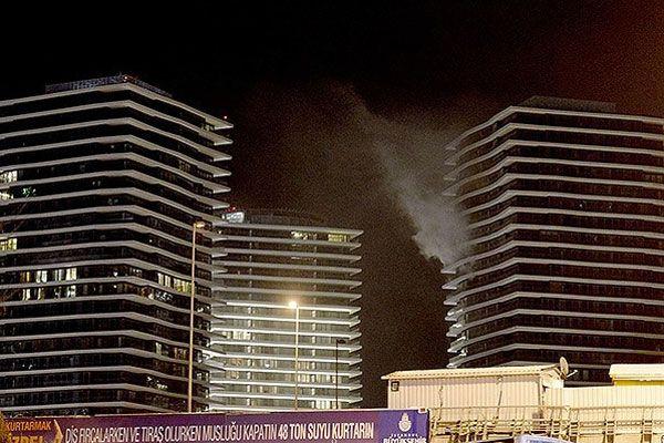Zorlu Center'dan yangın hakkında açıklama yapıldı