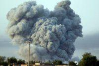 ABD'den IŞİD'in kalesine 30 füze!