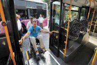 Şehir içi toplu taşıma araçları engellilerin erişimine uygun hale getirilecek