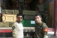 İşte ABD'nin Kobani'ye gönderdiği mühimmat ve silahlar