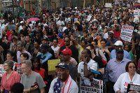 ABD'de Ferguson'dan sonra gözler New York'ta