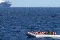 Akdeniz'i şişme botla geçmeye çalışan 17 göçmen öldü