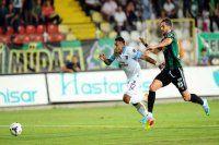 Trabzonspor 1 - 1 Akhisar ilk yarı maç sonucu