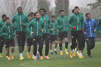 Akhisar'da Beşiktaş maçı hazırlıkları