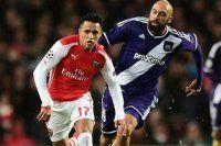 Anderlecht Arsenal karşısında tarihi geri dönüş yaptı
