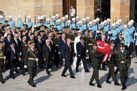 30 Ağustos'ta ilk tören Anıtkabir'de düzenlendi