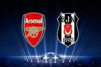Arsenal Beşiktaş maçının muhtemel 11'leri