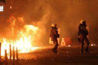 Atina'da göstericilerle polis çatıştı