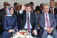 Başbakan Davutoğlu Kahramanmaraş'ta halka hitap etti