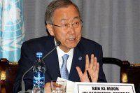 Ban, 'Afrika, Ebola ile mücadelede yalnız bırakılmamalı'