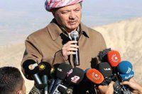 IŞİD'de ağır darbe sonrası Barzani Sincar dağında konuştu