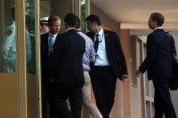 Başbakanlık'ta Kerry'nin korumaları ile kapı krizi çıktı