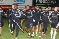 Beşiktaş'ta Partizan mesaisi sürüyor