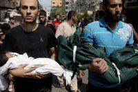 Gazze'de BM kamplarına sığınanların sayısı