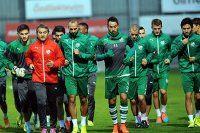 Bursaspor'da Josue ve Civelli idmana katılmadı