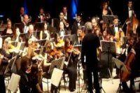Bursa'da Kazak senfoni orkestrası ile konser